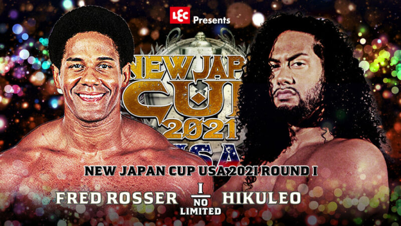rosser vs hikuleo - new japan cup usa