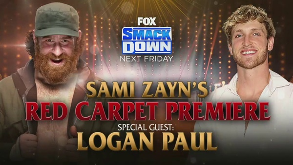 Logan Paul Comes to Friday Night SmackDown