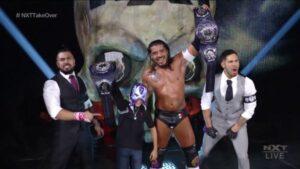Santos Escobar NXT Cruiserweight Champion