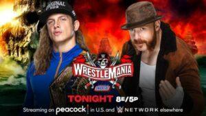 Sheamus Riddle WrestleMania 37