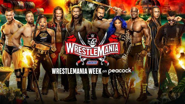 WrestleMania Week 2021 Peacock WWE Network