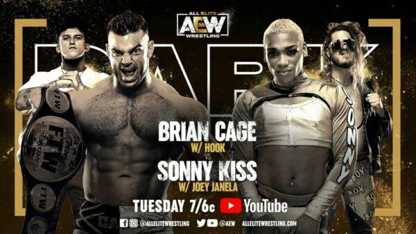 AEW Dark Brian Cage vs Sonny Kiss