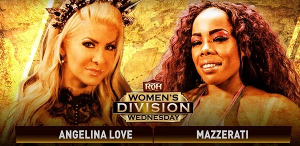 Mazzerati Returns to ROH vs Angelina Love