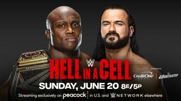 Hell in a Cell Bobby Lashley vs Drew McIntyre