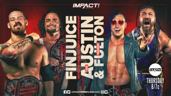 IMPACT Wrestling FinJuice vs Ace:Madman