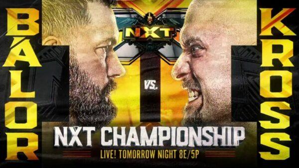 Karrion Kross vs Finn Balor WWE NXT Results