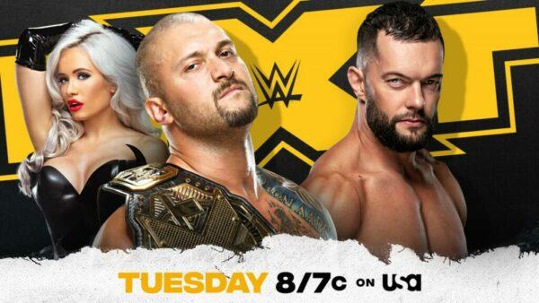 Karrion Kross vs Finn Balor WWE NXT card
