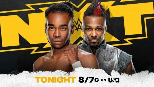 Leon Ruff vs Isaiah Swerve Scott WWE NXT card