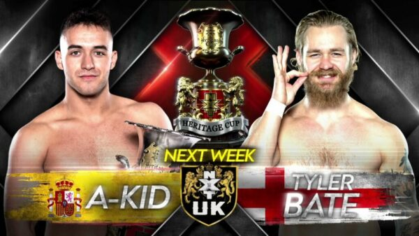 NXT UK preview A-Kid vs Tyler Bate