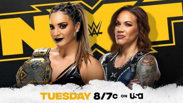 Raquel Gonzalez vs Mercedes Martinez WWE NXT Card