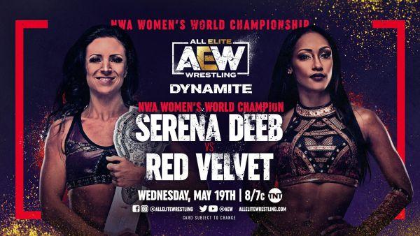 Serena Deeb vs Red Velvet AEW Dynamite results