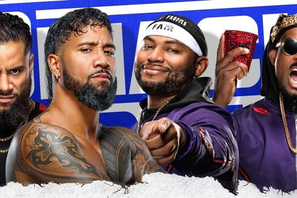 Friday Night SmackDown Usos vs Street Profits