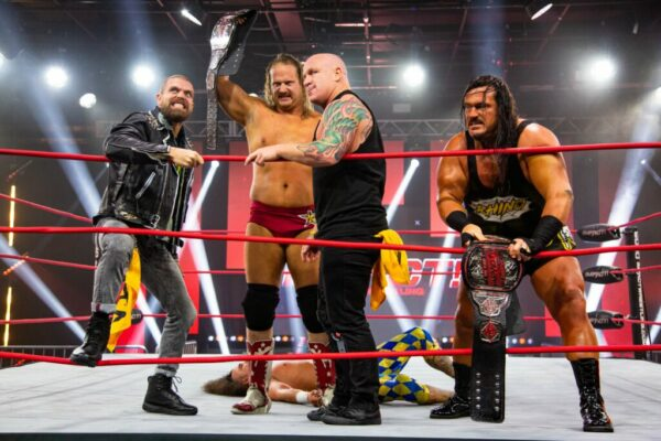 Violent By Design IMPACT Word Tag Team Champions