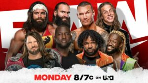 WWE Raw Card RKBro New Day