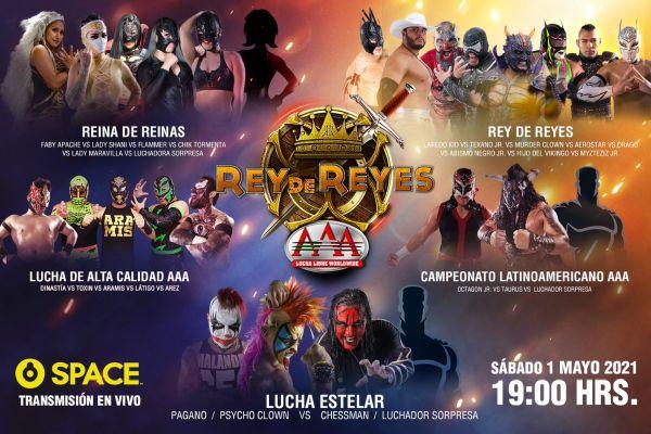 Lucha Libre AAA Worldwide Rey de Reyes 2021