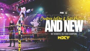 Candice LeRae and Indi Hartwell NXT Women's Tag Team Championship