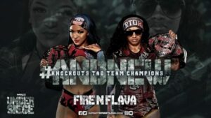 Fire N Flava IMPACT Knockouts Tag Team Championship