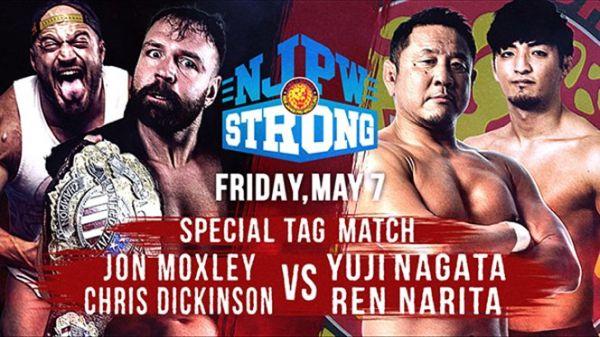 Jon Moxley and Yuji Nagata NJPW Strong