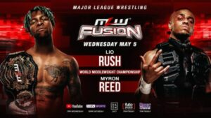 MLW FUSION 5/5/21 Lio Rush Myron Reed