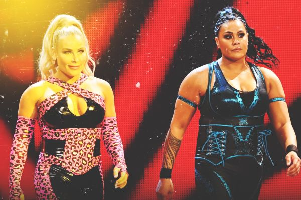 Natalya and Tamina WWE Women's Tag Team Championship