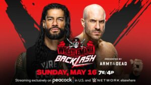 Roman Reigns vs. Cesaro WrestleMania Backlash