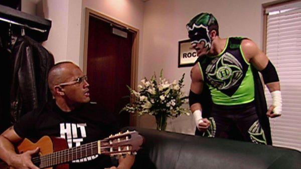 The Hurricane vs. The Rock WWE