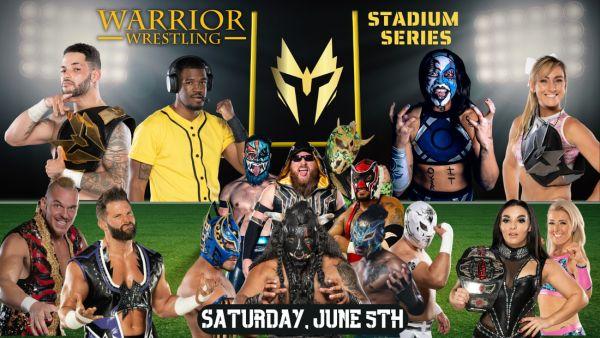 Warrior Wrestling Stadium Series 2021 Night 1