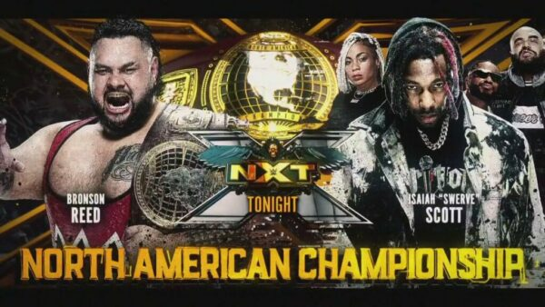 Bronson Reed vs Isaiah Swerve Scott WWE NXT results