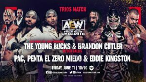 Bucks, Cutler vs PAC Penta Kingston AEW Dynamite results
