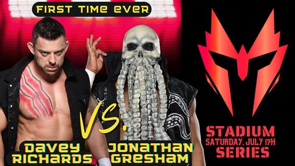 Davey Richards vs Jonathan Gresham Graphic