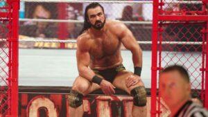 Drew McIntyre WWE Raw card