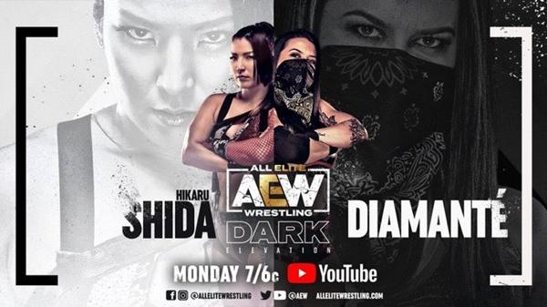 AEW Dark Elevation Card Hikaru Shida vs Diamante
