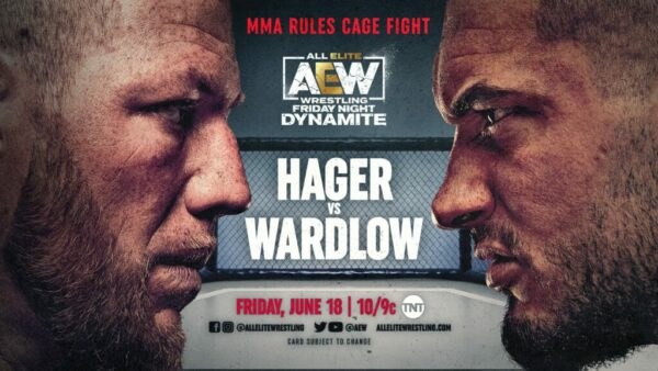 Jake Hager vs Wardlow AEW Dynamite results