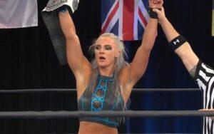 Kamille Wins NWA title