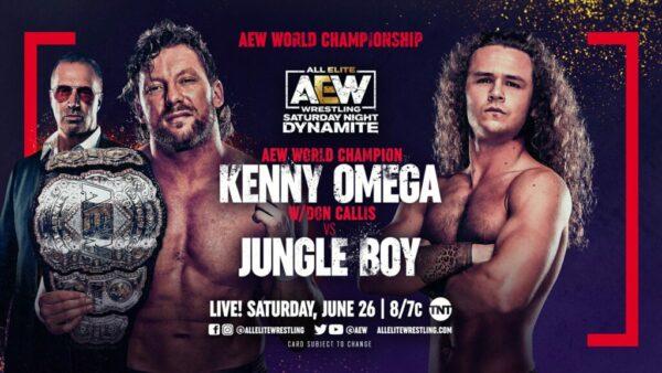 Kenny Omega vs Jungle Boy AEW Dynamite results