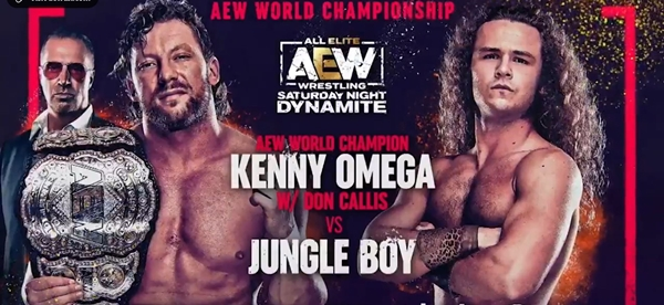 Kenny omega vs Jungle Boy