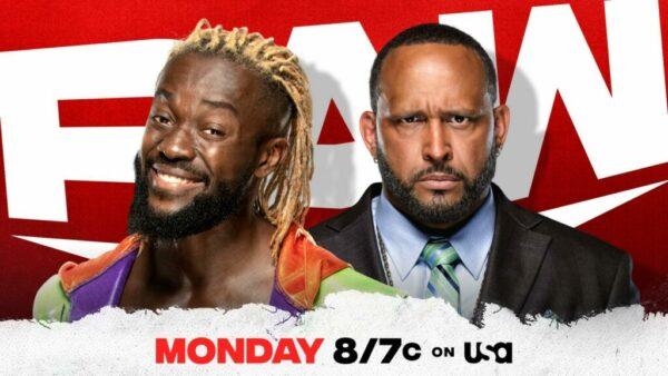 Kofi Kingston MVP WWE Raw card