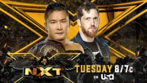 Kushida vs Kyle O'Reilly WWE NXT card
