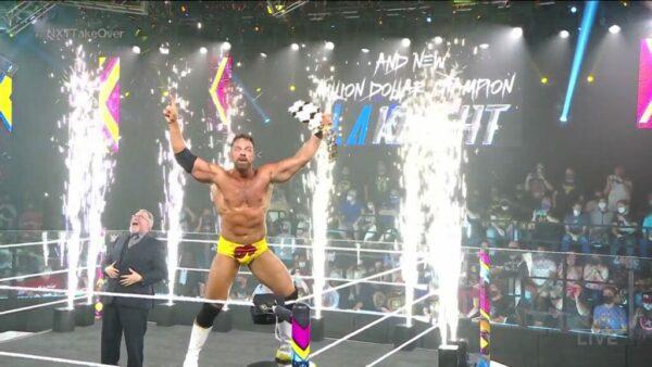 LA Knight Million Dollar Championship