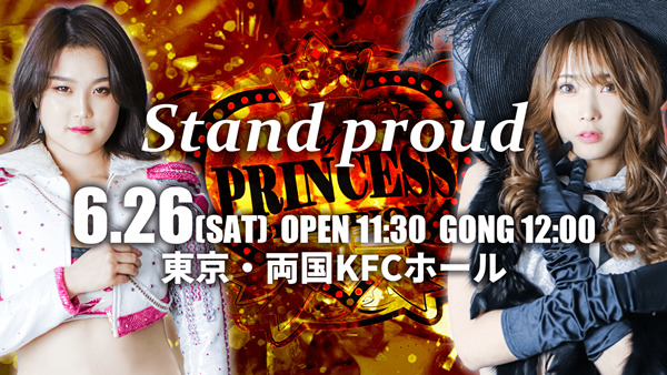 TJPW Stand Proud Event Graphic