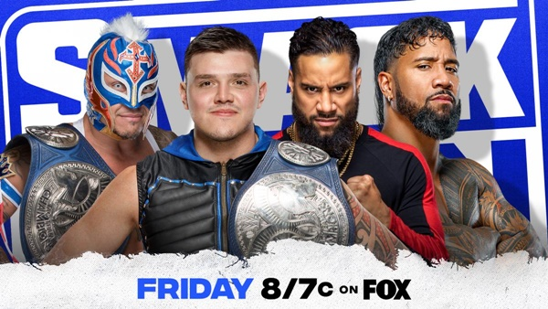 Friday Night SmackDown Will Host a Big Tag Team Match