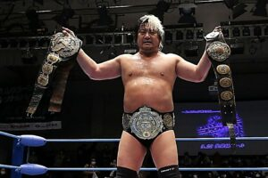 Suwama vacates Triple Crown Championship