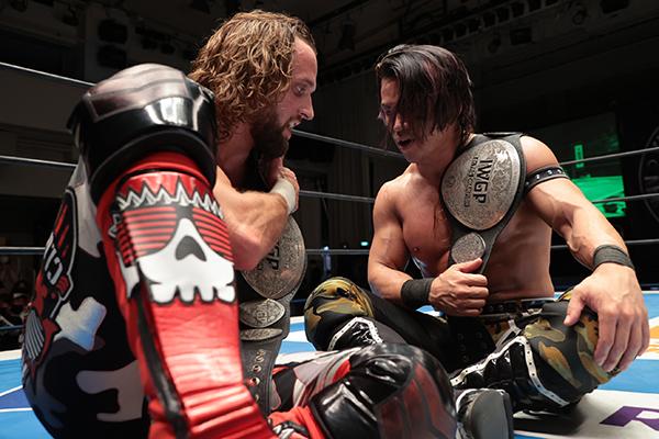 Taiji Ishimori and El Phantasmo win IWGP Jr. Tag titles