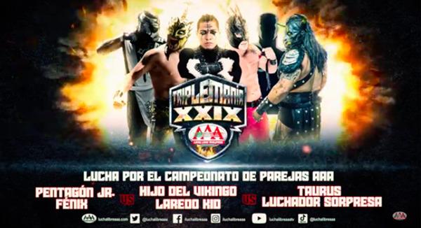 Triplemania XXIX tag title match