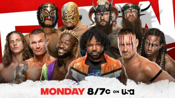 WWE Raw card Tag Team Battle Royal
