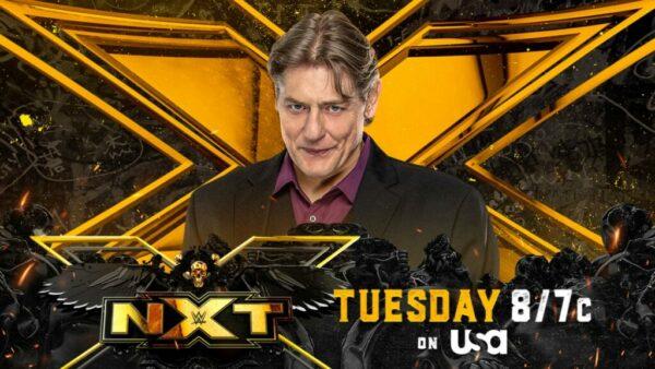 William Regal WWE NXT card