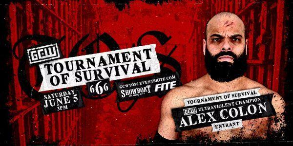 Alex Colon GCW Tournament of Survival 666