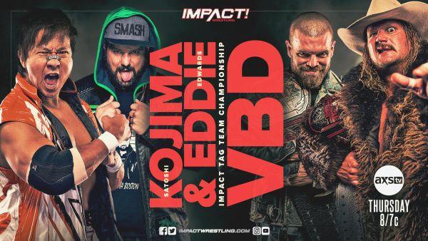 IMPACT Wrestling Edwards Kojima VBD