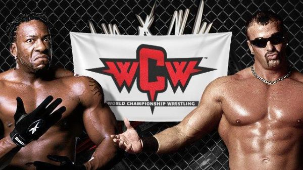 First WCW Match on Raw Booker T Buff Bagwell