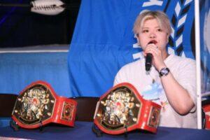 Hiragi Kurumi International Ribbon Tag Team Titles